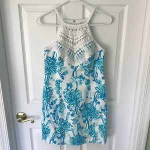 Blue and White Lilly Pulitzer Dress (Back It Up)